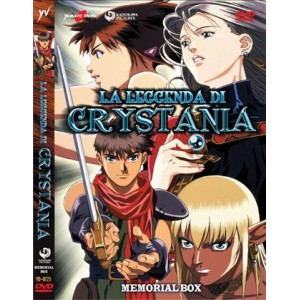 La Leggenda di Crystania - Memorial Box (2 DVD)