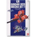 GUNDAM SEED MECHA SET 1 EX MODEL
