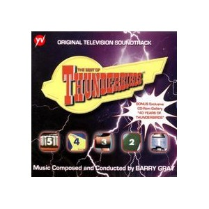 THUNDERBIRDS THE BEST OF - COMPILATION 2 CD