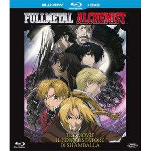 FULLMETAL ALCHEMIST THE MOVIE  (BLU RAY + DVD)