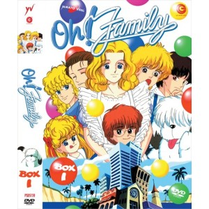 OH FAMILY BOX 01 ( 4 DVD )