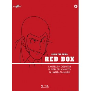 LUPIN III RED BOX ( 3 BLURAY )