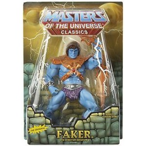 MOTU CLASSICS FAKER MASTER OF THE UNIVERSE