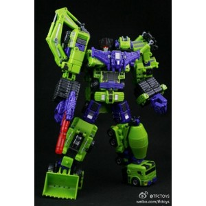 TRANSFORMER DEVASTATOR TFC TOYS SET 6 PC