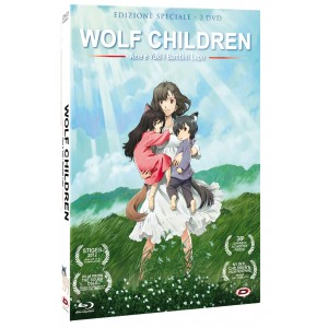 WOLF CHILDREN DVD ( 2 DVD )