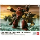 GUNDAM OPERATION CAPTURE OF JABURO HG 1/144