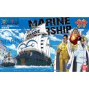 ONE PIECE GRAND SHIP MARINE WARSHIP