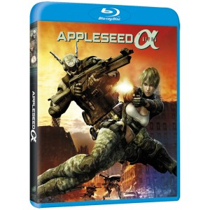 APPLESEED ALPHA BLURAY