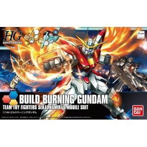 GUNDAM BUILD BURNING 1/144 HG