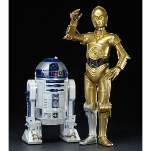 STAR WARS ARTFX C 3PO AND R2 D2