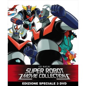 GO NAGAI SUPER ROBOT MOVIE COLLECTION DVD LTD ED. STEELBOOK