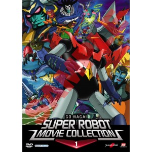 GO NAGAI SUPER ROBOT MOVIE COLLECTION 01 DVD