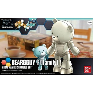 GUNDAM BEARGGUY FAMILY HG 1/144