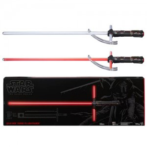 STAR WARS VII KYLO REN SWORD LIGHTSABER BLACK