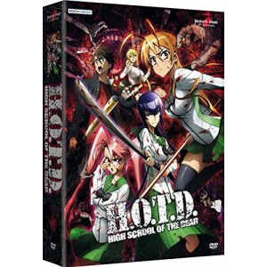 HIGH SCHOOL OF THE DEAD DVD 01-12+OAV