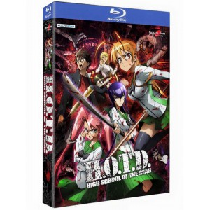 HIGH SCHOOL OF THE DEAD BLURAY 01-12+OAV