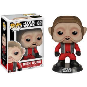 FUNKO POP STAR WARS EP 7 NIEN NUMB