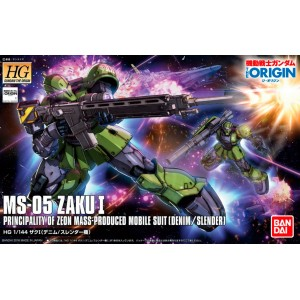 1/144 HG ORIGIN MS 05 ZAKU 1