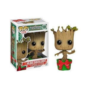 FUNKO POP 101 GUARDIANS HOLIDAY GROOT