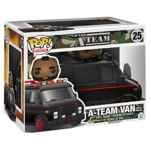FUNKO POP 25 A TEAM VAN