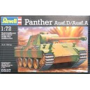REVELL 1A72 PANTHER AUSF D AUSF A