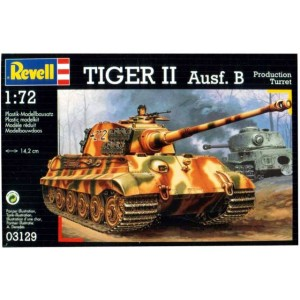REVELL 1A72 TIGER II AUSF B