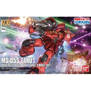 1A144 HG GUNDAM THE ORIGIN ZAKU I CHARS