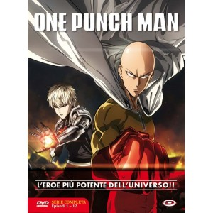 ONE PUNCH MAN DVD THE COMPLETE BOX