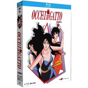 OCCHI DI GATTO NEW ED BOX 2 BLURAY