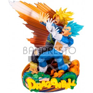 DRAGONBALL DIORAMA VEGETA TRUNKS