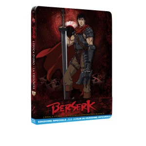 BERSERK TRILOGIA CINEMATOGRAFICA BLURAY