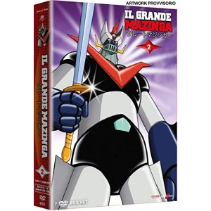 GRANDE MAZINGA NEW ED BOX 2 DVD