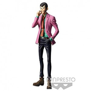 LUPIN THE THIRD LUPIN GIACCA ROSA banpresto