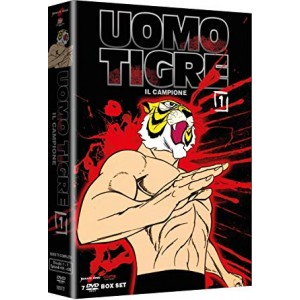 UOMO TIGRE NEW EDITION DVD BOX 01