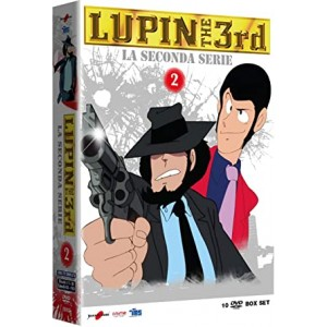 LUPIN III SECONDA SERIE BOX 02 DVD