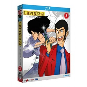 LUPIN III SECONDA SERIE BOX 03 BD